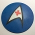 Star Trek TOS USS Enterprise Nursing Department Logo Coaster / Plaque image