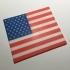 USA Flag Coaster / Plaque image