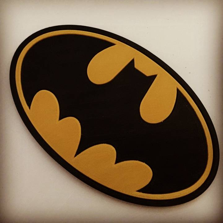 Batman Coaster / Plaque