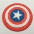 Captain America Shield Coaster / Plaque image