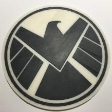 SHIELD Logo Coaster / Plaque
