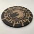 Battlestar Galactica BSG-75 Emblem Coaster / Plaque image