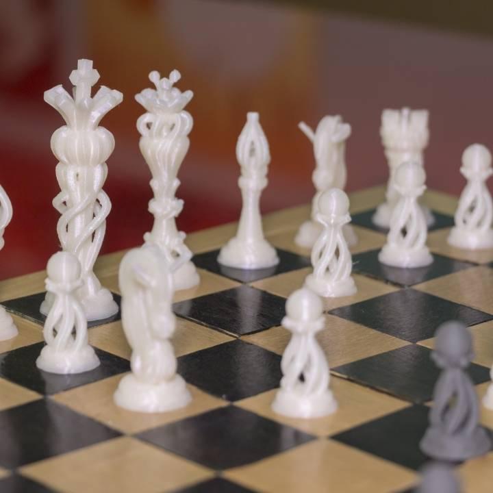 Chess Set // VR Sculpt