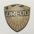 Judge Dredd Comics Badge Coaster / Plaque primary image