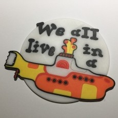 The Beatles Yellow Submarine Coaster