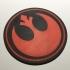 Star Wars Rebel Alliance Coaster / Plaque image