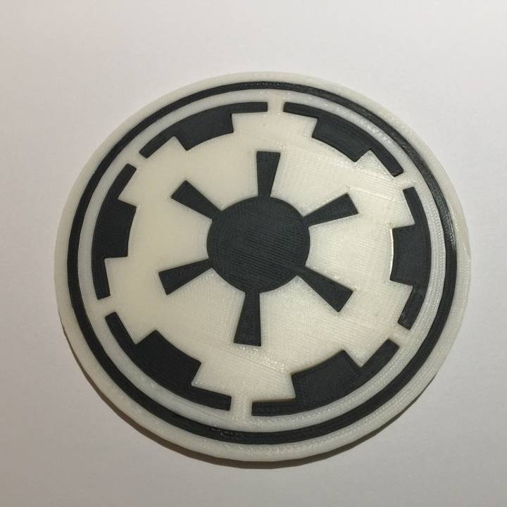 Star Wars Imperial Coaster / Plaque
