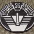 Stargate SG-1 Patch Coaster / Plaque image