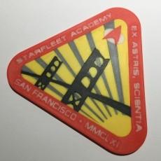 Starfleet Academy Logo Coaster / Plaque