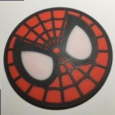 Spider Man Coaster / Plaque