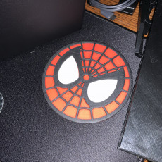 Picture of print of Spider Man Coaster / Plaque