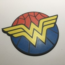 Wonder Woman Coaster / Plaque