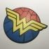 Wonder Woman Coaster / Plaque image