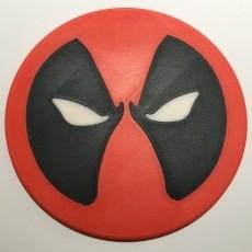 Deadpool Coaster / Plaque