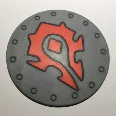 World of Warcraft Horde Shield Coaster / Plaque