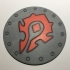 World of Warcraft Horde Shield Coaster / Plaque image