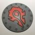 World of Warcraft Horde Shield Coaster / Plaque primary image