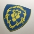 World of Warcraft Alliance Shield Coaster / Plaque image