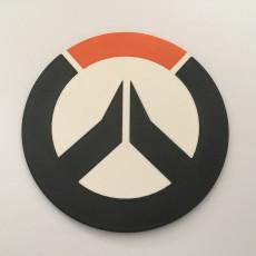 Overwatch Logo Coaster