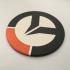 Overwatch Logo Coaster image