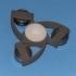 Vortex Fidget Spinner (Embedded Bearings) primary image