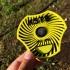 Spiral Moire Wind Spinner print image