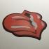Rolling Stones Logo Coaster image
