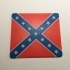Confederate Flag Coaster image