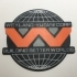 Weyland-Yutani Corp Logo Coaster image
