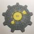 Fallout Vault Door Coaster image