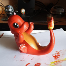 Picture of print of Charmander - Pokemon in high resolution. Check out my profil for more pokemon characters.