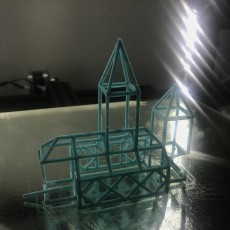 Picture of print of Stick Steeple