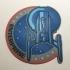Star Trek Enterprise NX-01 Patch Coaster primary image