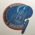 Star Trek Enterprise NX-01 Patch Coaster image
