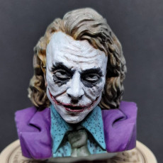 Picture of print of The Joker - Heath Ledger - Bust