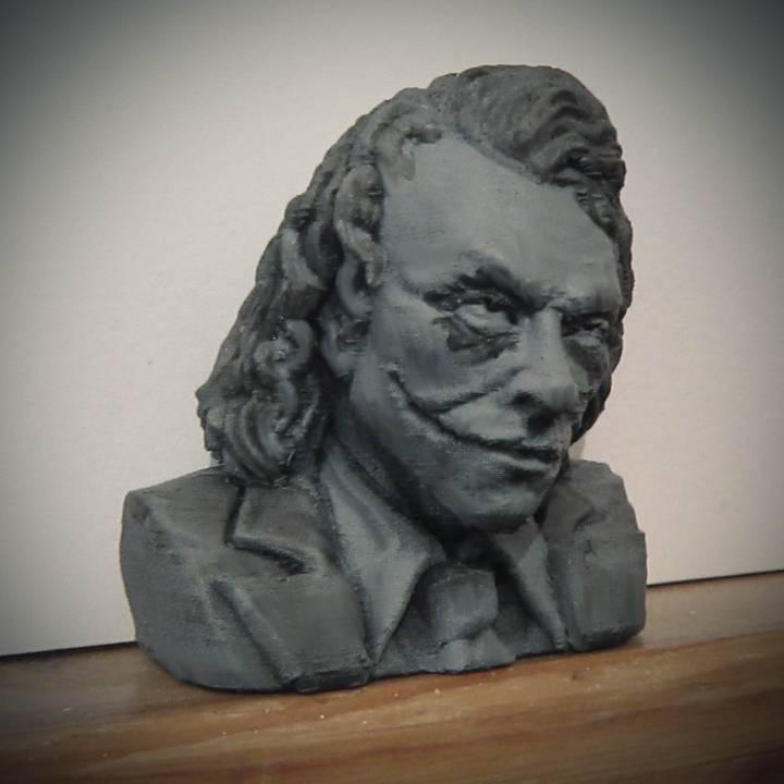 The Joker - Heath Ledger - Bust