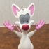 Pinky and the Brain print image