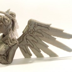 Picture of print of Overwatch - Mercy Bust