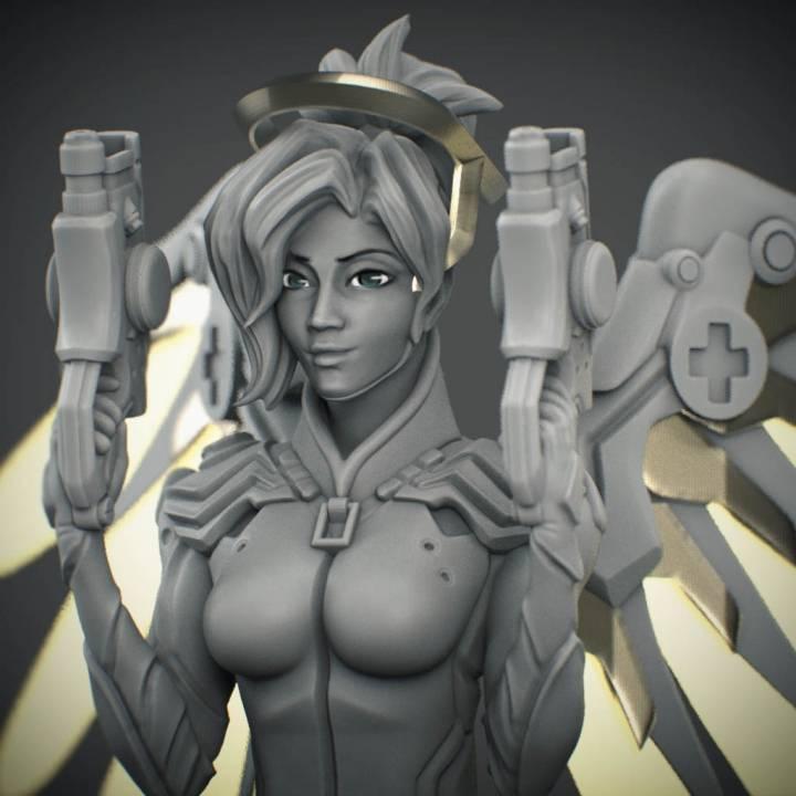 Overwatch - Mercy Bust