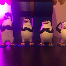 Picture of print of The Penguins of Madagascar