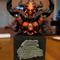 Picture of print of Diablo 3 - Diablo