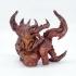 Diablo 3 - Diablo print image