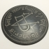 Game of Thrones Coin of the Many Faced God Coaster image
