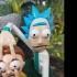 Rick and Morty print image
