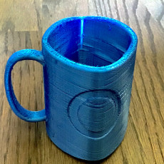 Picture of print of Squircle Mug // Ambiguous Cylinder Illusion