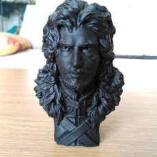 Picture of print of Game of Thrones - Jon Snow Bust
