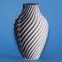 Chromatic Split Vase image