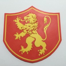 Game of Thrones Pennant of House Lannister Coaster