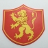 Game of Thrones Pennant of House Lannister Coaster primary image