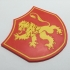 Game of Thrones Pennant of House Lannister Coaster image